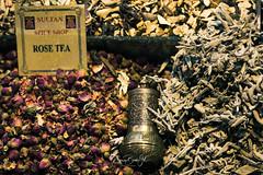 Rose tea at Spice Market (Enricu) Tags: colorful macro rosetea istambul colors spicesmarket spices tea detail istanbul turkey tr