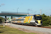 WHOOSH!! (brickbuilder711) Tags: brightline fec florida east coast train passenger blf603 siemens charger sc40b deerfield beach dixie flyover all aboard