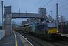 Tad late on the shutter (DieselDude321) Tags: 88003 class 88 drs direct rail services 6k27 1443 carlisle ny crewe basford hall ssm penrith cumbria genesis