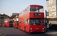 Sutton station (DaveAFlett) Tags: daimler fleetline londontransport ojd131r sutton