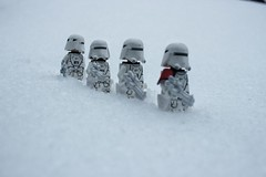 Frozen troopers