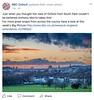 BBC Oxford facebook cover picture 19-1-18. (Anthony P Morris) Tags: oxford sunset bbc bbcoxford bbcoxfordfacebook bbcoxfordfacebookcover anthonypmorris farmoor oxfordshire weather weatherwatchers bbcweatherwatchers