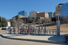 Rent Bikes Done Right in Ft Worth (Gene Ellison) Tags: bikes rack city ftworth tx