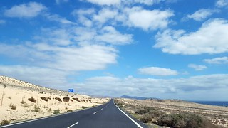 Searching the Black Beach  #OnTheRoad #Ajuy #Fuerteventura #España #Cloudporn #Skyporn #road #traveladdict #travelling