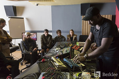 A Guy Called Gerald - Visiting Artist (Berklee Valencia Campus) Tags: berkleecollegeofmusic berklee berkleevalencia berkleevalenciacampus berkleestudents visitingartist aguycalledgerald music musicians dj set masterclass recordingsession nachomarco