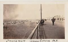 Boardwalk Coney Island N.Y. 30s (Pat Wadolowski) Tags: 30s 1930s century coneyisland coney island 20thcentury
