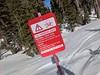 CO2 Warning Sign, Mammoth, California, USA (gruntzooki) Tags: california cali cal ca sign signs mammoth skiing ski co2 warning