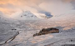 Down there (chrismarr82) Tags: glencoe scotland nikon sunrise sun snow winter