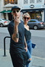 Passing peace (radargeek) Tags: charleston sc southcarolina couple august 2017 sunglasses tattoo tattoos peace sign downtown