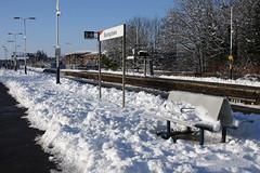 Basingstoke, January 9th 2010 (Southsea_Matt) Tags: january 2010 winter canon 30d unitedkingdom england hampshire basingstoke railwaystation snow