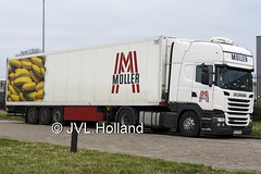 Scania R410  SK  MÜLLER  180129-031-C5 ©JVL.Holland (JVL.Holland John & Vera) Tags: scaniar410 sk müller hoekvanholland transport truck lkw lorry vrachtwagen vervoer netherlands nederland holland europe canon jvlholland