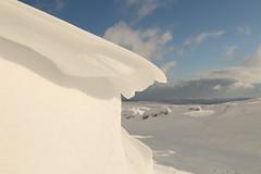 Frozen In Time (Derbyshire Harrier) Tags: snow snowdrift peakdistrict peakpark february cornice wave derbyshire darkpeak moorland 2018 winter