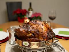 Truthahn - Pavo - Dinde - Turkey (Ernst_P.) Tags: aut inzing österreich tirol weihnachten essen abendessen pute truthahn pavo turkey meal sigma 50mm f14