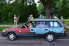 2017 Lake Harriet Art Car Parade - Tile car (schwerdf) Tags: artcarparade artcars cars lyndalepark minneapolis minnesota