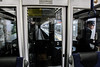 On the subway, Osaka - Japan (Marconerix) Tags: osaka japan giappone kansai metro subway underground station metropolitana officer conductor inspector pilota conducente
