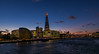 Sunset Shard (trevorhicks) Tags: londonboroughoftowerhamlets england unitedkingdom gb tower bridge river thames city outdoor night lights buildings shard canon 5d mark iv sunset sky clouds boats water waves tamron