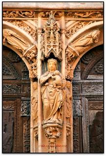 La Mare de Déu, Iglesia de Sta. María, Aranda de Duero (Burgos, España)