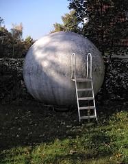- (txmx 2) Tags: hamburg ladder ball globe sphere garden
