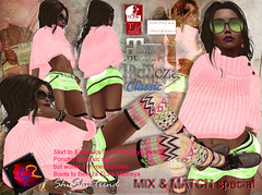 ShuShu MIX & MATCH outfit special winter - special for a short time (AnaLee Balut) Tags: shushu knitted winter socks stockings tights gacha wool boots slink maitreya belleza classic standard secondlife sl mesh fitmesh cozy