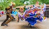 Leaning In (Wes Iversen) Tags: arizona cincodemayo hss nikkor18300mm sedona sliderssunday tlaquepaqueartscraftsvillage colors costumes dancers dancing digitalart dresses men painterly performances performers women
