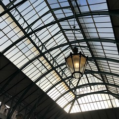 the glass ceiling (Hayashina) Tags: london coventgarden lamp ceiling glass