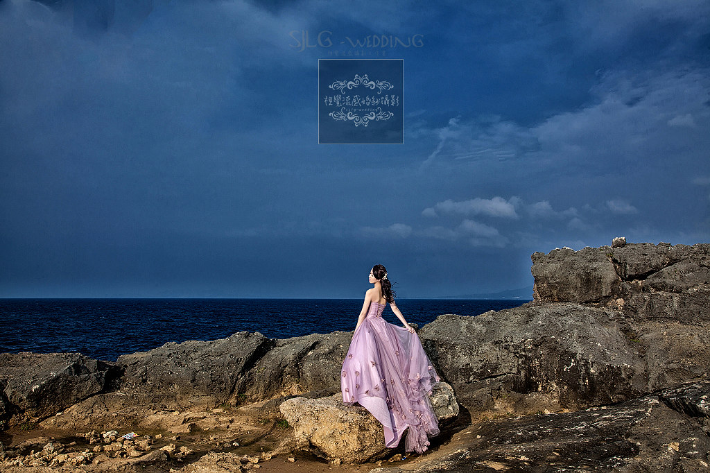 海外婚紗,婚禮,攝影,自助,旅拍,國外,日本,沖繩,琉球,殘波岬燈塔