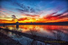 Newark DE_9762 (MVMoore59) Tags: sunset sunriselover hdr clouds color lightroom water waterscape winter