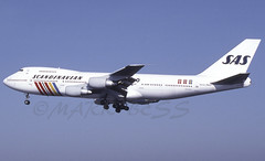 N517MCJFK22L (MAB757200) Tags: scandinavianairlinessystem b747243bf n517mc runway22l sas jetliner jfk kjfk aircraft airplane airlines boeing airport cargo
