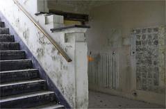 Liduina (3) (leuntje) Tags: sanctamaria liduina noordwijkerhout noordwijk netherlands psychiatrichospital stairs abandoned urbex decay decline