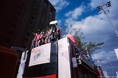 Parada do Orgulho LGBT de São Paulo 2017 (Celso Kuwajima) Tags: epsonv800 silverfastai people leicam4 leicasuperangulon13421mm kodakportra160 croud streetphotography analogphotography sãopaulo brazil br sky