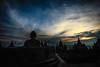 Sunrise in Borobudur Temple (valepanebianco) Tags: borobudur yogyakarta indonesia sunrise nikon nikond610 alba tempio travel viaggiare