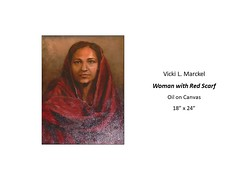 """Woman with Red Scarf • <a style=""""font-size:0.8em;"""" href=""""https://www.flickr.com/photos/124378531@N04/39220581375/"""" target=""""_blank"""">View on Flickr</a>"""