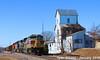 2/5 NS 1074(Lackawanna) Leads NB Empty Coal Drag Lenexa, KS 1-24-18 (KansasScanner) Tags: lenexa kansas bnsf train railroad ns ns1074 lackawanna