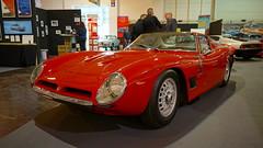 Bizzarini 5300 GT Stradale rot (Mark 800) Tags: techno classica essen 2016 bizzarini 5300 gt stradale