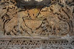 Facade of Qasr Mshatta, Umayyad, 8th cent.; Pergamon Museum, Berlin (14) (Prof. Mortel) Tags: germany berlin pergamonmuseum islamic umayyad mshatta