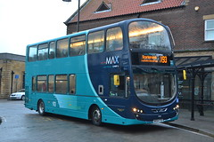Arriva North East 7406 NK64FSO (Will Swain) Tags: whitby station 11th november 2017 bus buses transport travel uk britain vehicle vehicles county country england english north east arriva 7406 nk64fso scarborough x93