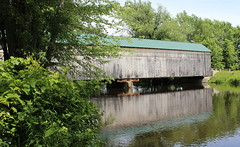 Salisbury Station covered bridge (pegase1972) Tags: us usa vt vermont coveredbridge bridge unitedstates