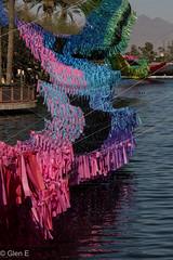 Kinetic Sculpture (nebulous 1) Tags: kineticsculpture scottsdale az water color wind canal