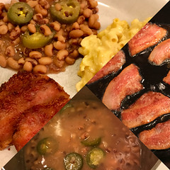 New Year's Day Good Luck Foods (TagDragon) Tags: food peas tradition hogjowl blackeyedpeas nyd goodluck jalapeno
