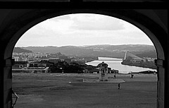 arch (jj.levi) Tags: bw arch blackandwhite bridge old