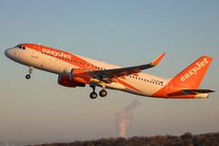 EasyJet - Airbus A320-214/S G-EZOU @ Bristol Lulsgate (Shaun Grist) Tags: ezy easyjet airbus a320 gezou brs eggd bristol bristolairport bristollulsgate airport aircraft aviation aeroplanes airline avgeek orange sunrise