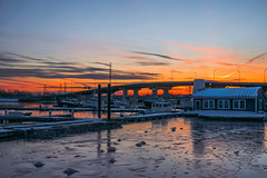 A Familiar Place (wardephoto) Tags: sunset sunsetcolors sunsetphotography sunsetvision wintersunset winterscape newengland massachusetts landscape landscapephotography ocean oceanlandscape frozenocean snow snowscape marina boats lightroom nikon nikond3300 landscapeexhibition landscapephoto suburban seascape reflections ice cold colorful peaceful serene long exposure longexposure longexposurephotography sunsetlongexposure longexpo longexposureaddiction