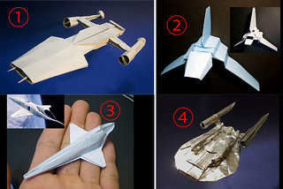 Which origami spaceship do you want for my next origami diagram?