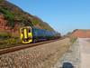 150244 Dawlish (11) (Marky7890) Tags: gwr 150244 class150 sprinter 2f37 dawlish railway devon rivieraline train