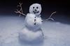 Tiny snowman I (kaifr) Tags: smiling snow closeup macro winter snowman figure myfavouritenovelfiction macromondays