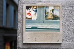 Ghost 615 (Rosmarie Voegtli) Tags: zurich zürich inexplore kunstimöffentlichenraum project art concrete photography decay streetart harrygelb concept napfgasse