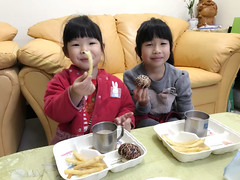 20180221_Breakfast time (violin6918) Tags: violin6918 taiwan hsinchu apple iphoto7plus i7 mobile cute lovely littlebaby angel children child pretty princess baby portrait kid daughter girl family vina shiuan home