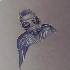 Making the process of a rubber fetish illustration with color pencils. Self portrait. http://ift.tt/2Bsg4TE #tw #fb #pn #tm #fi #elenadarkberry #youtuber #illustration #pencil #pencildrawing #gasmask #rubber #latexfetish (ElenaDarkBerry) Tags: making process rubber fetish illustration with color pencils self portrait youtubecomelenadarkberry tw fb pn tm elenadarkberry youtuber pencil pencildrawing gasmask latexfetishifttt instagram