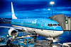 Lyon (mark.wagtendonk) Tags: lyon lys airport st saint exupery boeing 737 737800 738 aircraft dusk blue klm