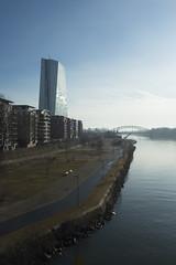 20180305-DSC3092 (A/D-Wandler) Tags: frankfurtammain wasser fluss main ezb europäischezentralbank gebäude architektur weselerwerft stadt himmel brücke